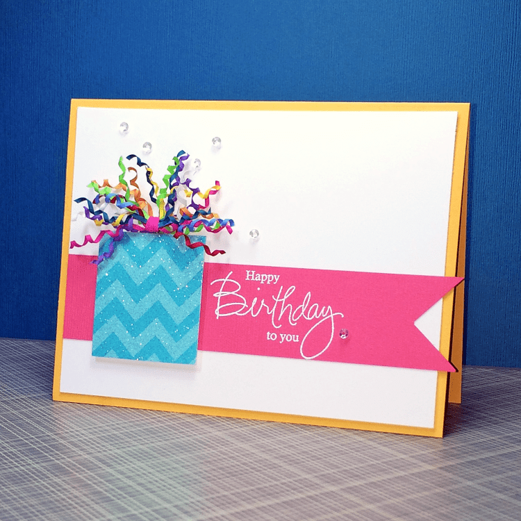 Friday Fix-a-Card: Happy Birthday To You