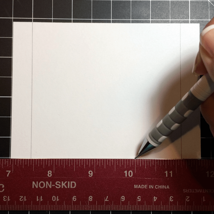 BUILDING A SHAKER CARD