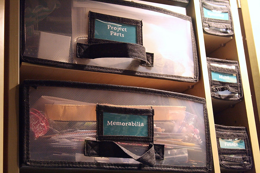 A Tiny Craft Space & Printable Labels For Your WorkBox 1.0