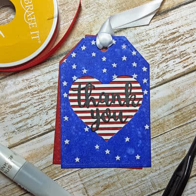 Tag You're It! Challenge: Fourth of July Patriotic Tag
