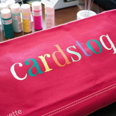 Customizing Your CAMEO Dust Cover with a Stencil